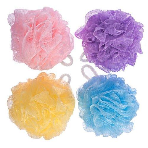 BoldnYoung Bath Shower Soft Loofah Sponge Pack of 4