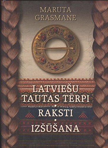 Latviesu Tautas Terpi Raksti Izsusana (Latvian National Costumes Ornaments ()