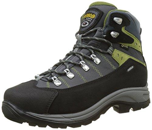 Asolo Revert Gv mm, Zapatos de High Rise Senderismo Hombre, Negro (Nero/Gunmetal), 42 EU