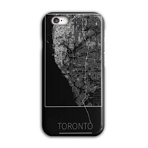 Unsere Kostüme Stadt (Kanada Toronto Stadt Stadt Karte iPhone 6 / 6S Hülle |)