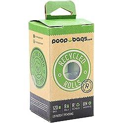 Paquete de 120 bolsitas perfumadas para excrementos de mascotas