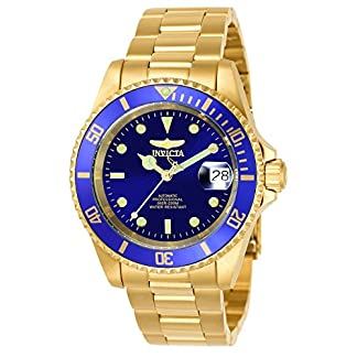 Invicta Pro Diver Unisex Wrist Watch Stainless Steel Automatic Blue Dial – 8930OB