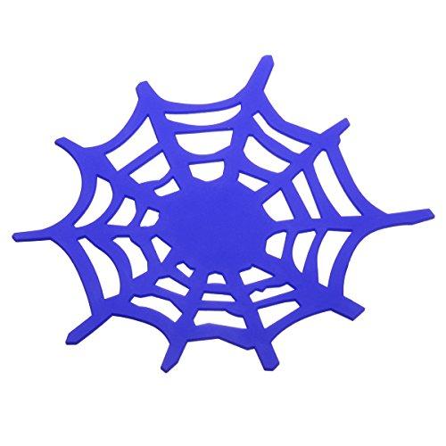 Preisvergleich Produktbild 2 Armaturenbrett-Pad Anti Rutsch Silikon Spinne Web Form Matte Auto Dashboard Klebrige Auflage Kleber Matte für Handy, CD, elektronische Geräte, iPhone, Schwarzes