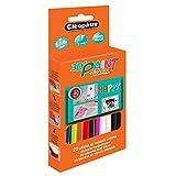 Cléopâtre - PO20RPC - Cléo'STICK 3D Paint - Boîte de 20 Bâtons de peinture pour CléoGun