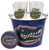 NCAA Florida Gators Satin Etch Bucket an...
