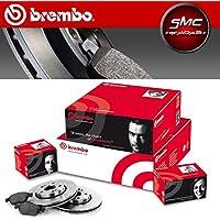 Brembo Brembo Kit discos traseros + Pastillas Traseras 08.a759.10+ p85099