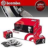 Kit Bremsscheiben Brembo + Bremsbeläge vorne Brembo 09.6924.11 + P06065