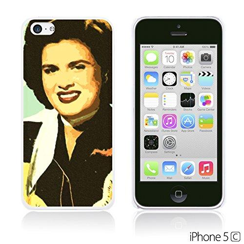 OBiDi - Celebrity Star Hard Back Case / Housse pour Apple iPhone 5C - Beautiful Queen Elizabeth II Patsy Cline