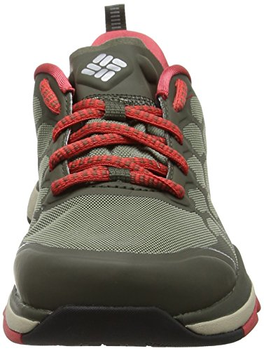 Columbia ATS Trail Fs38 Outdry, Scarpe Sportive Outdoor Donna Blu (Cypress/ Sunset Red)