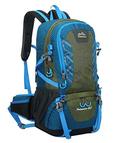 Peiji Damen Trekkingrucksack, violett Blau - Lake Blue