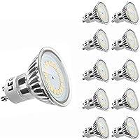 LE MR16 GU10 LED Lampen, ersetzt 50W Halogenlampen, 3.5W, 350lm, Warmweiß, 3000K, 120° Abstrahwinkel, LED Birnen, LED Leuchtmittel, 10er Pack