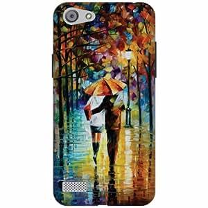 Oppo A33 Hard Plastic Back Cover - Multicolor Designer Cases Cover by Printland