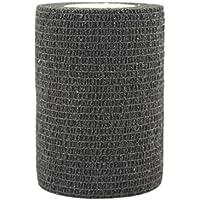 STpro Selbstklebender Verband Tape Fixierverband Selbsthaftende Bandage 7,5cm x 12 Stück Schwarz Tape Haftbandage... preisvergleich bei billige-tabletten.eu