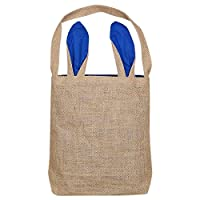 Noblik New Cute Bag Bunny Ears Cloth Tote Basket For Eggs Candies Gifts Hunting At Party Festival Bag