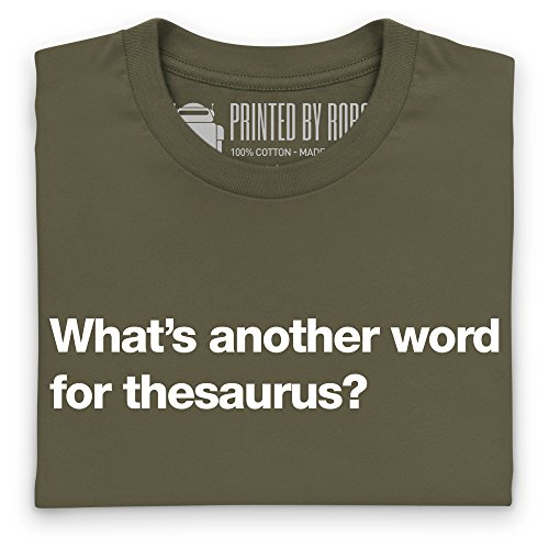 Another Word For Thesaurus T-Shirt, Damen Olivgrn