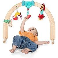 Lilliputiens 86636 - Spieltrainer Holz, Holzbogen ohne Spielzeug, holzfarben