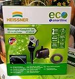 HEISSNER UP1000-00 LED-Wasserspiel mit Erdspieß und Pumpe 1000 l/h