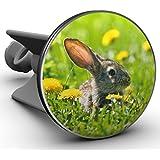 Plopp Waschbeckenstöpsel Hase im Gras, Stöpsel, Excenter Stopfen, für Waschbecken, Waschtisch, Abfluss