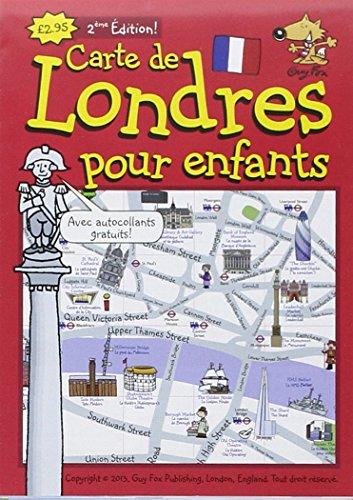 Guy Fox Carte de Londres Pour les Enfants: London ...