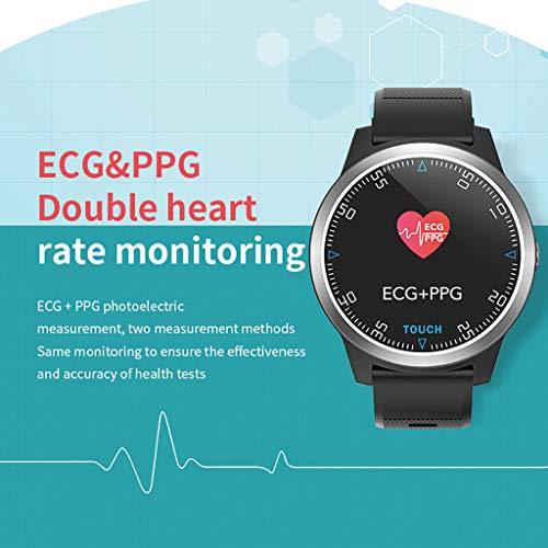 jieGREAT ❤❃ Räumungsverkauf❤❃ ,Smart Watch Sport Fitness Activity EKG + PCG Blood Pressure Heart Rate Monitor Wri