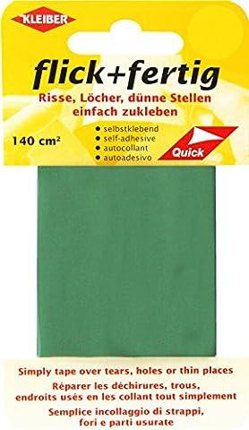 Kleiber 140 cm² Flick und Fertig Selbstklebendes Reparaturband aus Nylon, grün