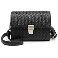 3d0580a8c755 BYD Women s Bag Soft Pu Leather Shoulder Mini Purse Camera Bag Woven  leather chain Handbag