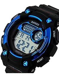 TTLIFE 1054 Unisexe Multi Function Quartz numérique LED Watch résistant à l'eau électroniques Montres Sport