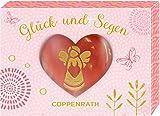 Edelstein mit Gravur - Glück und Segen - Schutzengel: Handschmeichler