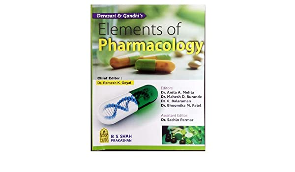 elements of pharmacology by rk goyal