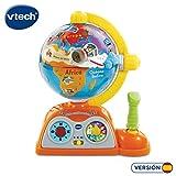 VTech - Globo multiaventuras, infantil interactivo que enseña geografía, continentes,...