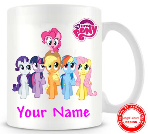 Price comparison product image ANGEL LEISURE MUG AL037 - MY LITTLE PONY - PERSONALISED MUG - GIFT