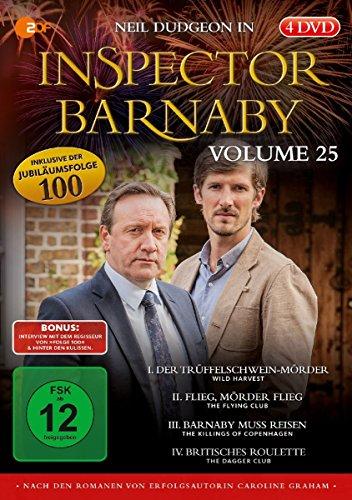 Inspector Barnaby, Vol.25 (4 DVDs)