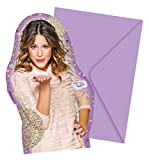 Procos 10108569B – Kinderpartyset – Disney Violetta – Gold Edition, Größe M, 49-teilig - 7