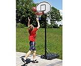 Betzold 42104 - Basketball-Ständer Basketball-Korb, Zielbrett: 91 x 62 cm, höhenverstellbar 205-265 cm - Outdoor-Board