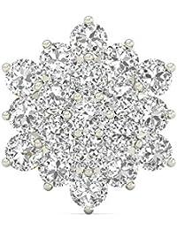PC Jeweller The Sabriya 18KT Yellow Gold & Diamond Nose Pin
