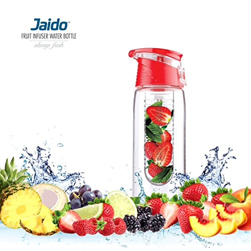 fruit-infuser-bottle-700ml-plus-free-water-infused-recipes-ebook-great-for-gym-office-yoga-travel-ho