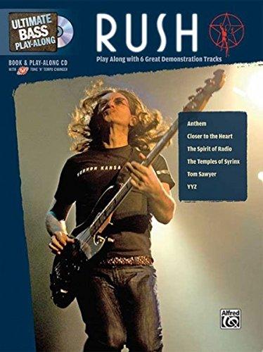Ultimate Bass Play-Along Rush: Authentic Bass Tab, Book & CD por Rush