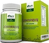 Livactivate Leberreinigung mit Curcumin und löwenzahn | Komplett Vegan Leberentgiftende Kapseln (keine Tabletten) | 120 Kapseln (4 Monate Vorrat) | Enthält 20 Notwendige Inhaltsstoffe zur Unterstützung der Leber | leber entgiften/Hergestellt in Großbritannien von Nu U Nutrition