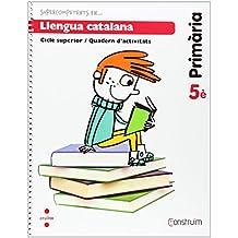Supercompetents en... Llengua catalana. 5 Primària. Construïm. Quadern - 9788466134774
