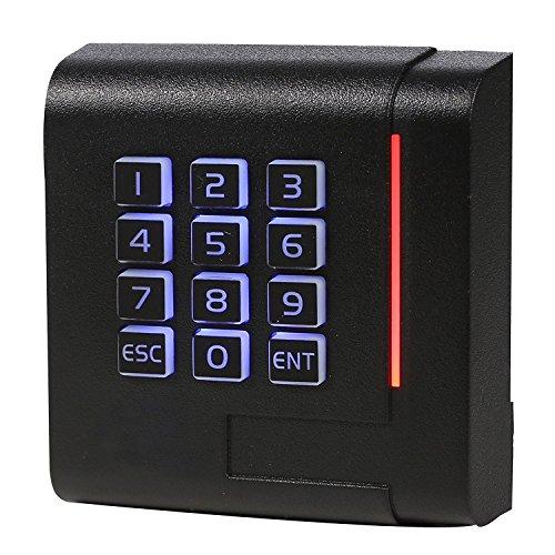UHPPOTE 13.56Mhz Wiegand 26/34 RFID EM IC Lecteur de carte en clavier connecté avec bobard de contrôle d'accès