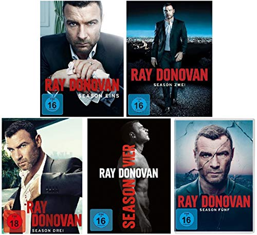 Ray Donovan Staffel 1 - 5 im Set (FSK 18) - Deutsche Originalware [20 DVDs]