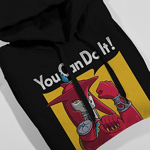 Prince Sidon You Can Do It Legend Of Zelda Breath Of The Wild Women's Hooded Sweatshirt Black
