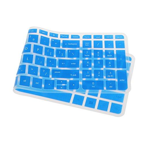 F Fityle Silikon Tasttaturschutz Keyboard-Abdeckung Silikon Skin Cover für HP Pavilion 15-Zoll Notebooks - #3
