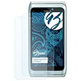 Bruni Schutzfolie für Nokia E7 Folie - 2 x glasklare Displayschutzfolie