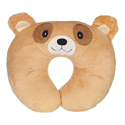 WonderKart U Shape Feeding & Nursing Baby Neck Pillow - Brown Dog