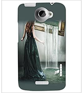 HTC ONE X GIRL Designer Back Cover Case By PRINTSWAG