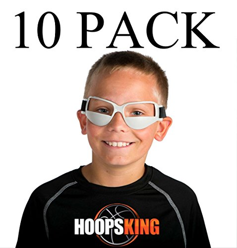 HoopsKing Basketball Dribble Brillen 10 Pack Plus Workout-DVD (Videos Fußball-fähigkeiten)