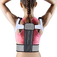 Haltungskorrektur Geradehalter Rückenbandage zur Schulter Rücken Taille mit Stützklammer für Männer und Frauen(L) preisvergleich bei billige-tabletten.eu