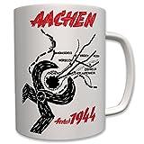 Aachen Herbst 1944 Wk Würseln Kohlscheid Verlautenheide Eschweiler Broich Weiden Zange Us Army Wh Schlacht Kampf Bild Foto- Tasse Becher Kaffee #7445