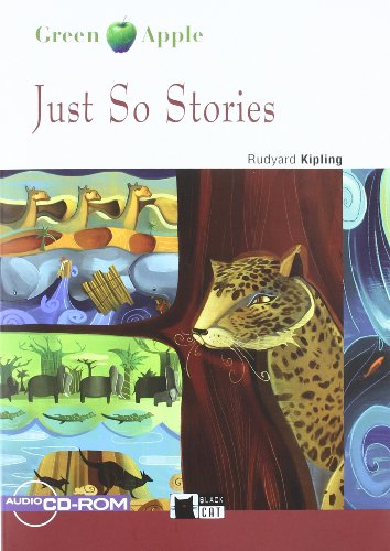 Just So Stories+cd (Black Cat. Green Apple) por Cideb Editrice S.R.L.